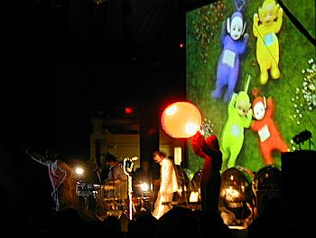 The Flaming Lips in concert.
