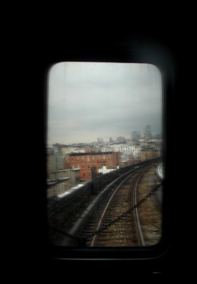 View from the back of the Ftrain