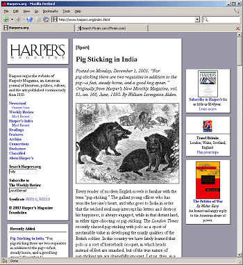 Image: screenshot of Harpers.org.